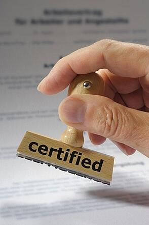 What does it mean to have a cybersecurity certification?